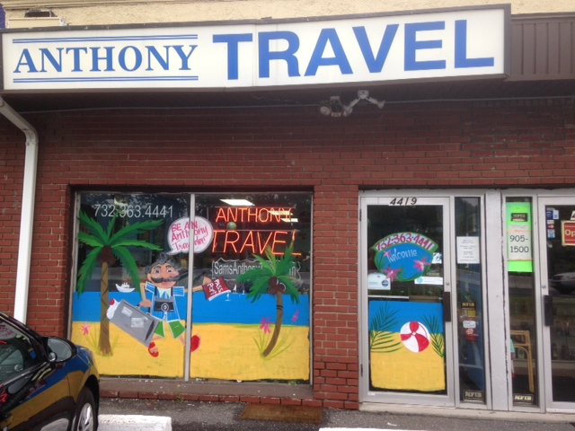 Anthony Travel window